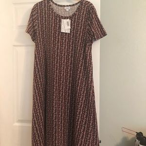 NWT Lularoe Jessie Dress Size Large has pockets